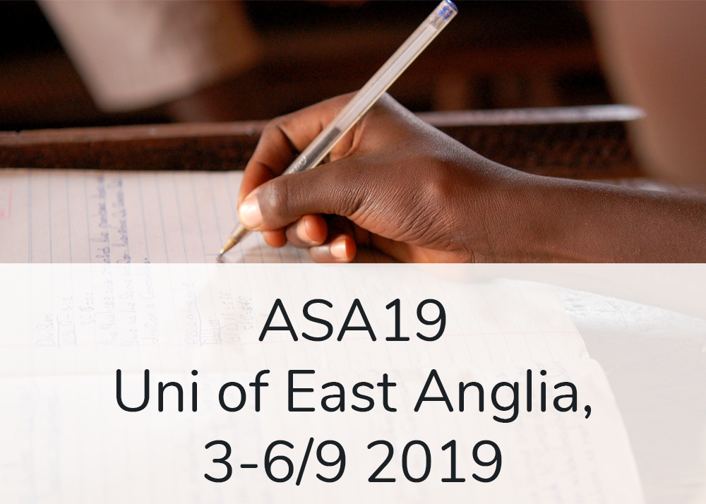 Uni of East Anglia, 3-6/9 2019